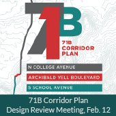 71B Corridor Plan Design Review Meeting, February 12