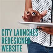 City Launches Redesigned Website