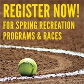 Register Now for Spring Recreation Programns and Races