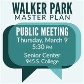 Walker Park Master Plan - Public Meeting