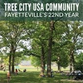 Fayetteville is Tree City USA Community for 22nd Year