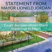 Libary  Statement from Mayor