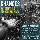 Floodplain map meeting