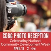 CDBG Photo Reception Announcement