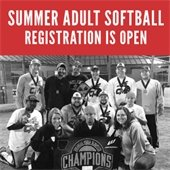 Registration Open for Summer 2017 Adult Softball