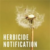 Herbicide Notification