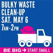 Bulky Waste Clean-up May 6