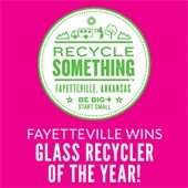 City of Fayetteville Wins Glass Recycling Program of the Year Award