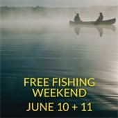 Free Fishng Weekend