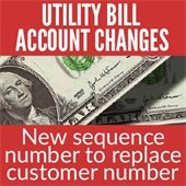 Utility Bill Changes
