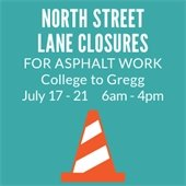 North Street Lane Closures