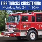 Fire Truck Christening