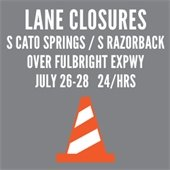 Lane Closures at Expy