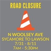 Woolsey Road Closure