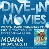 Dive-In Movie - Moana