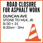 Duncan Road Closure