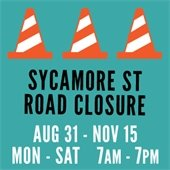 Sycamore Street Road Closure