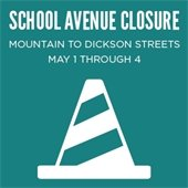 School Avenue Closure