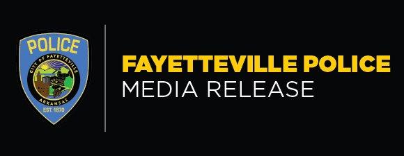 Fayetteville Police Media Release header