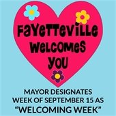 "Mayor Designates Week of September 15 as ""Welcoming Week"""