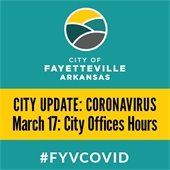 COVID-19 Update March 17: Changes to City Division Office Hours