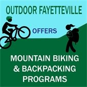 Outdoor Fayetteville Offers Mountain Biking and Backpacking Programs