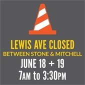 Lewis Ave Closed
