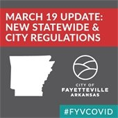 March 19 Update: New Statewide and City Regulations