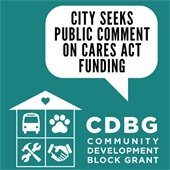 City Seeks Public Comment on CARES Act Funding