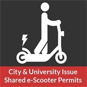 City and University Issue Shared e-Scooter Permits