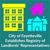 City of Fayetteville establishes registry of landlords' representatives
