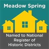 Meadow Spring Named to National Register of Historic Districts