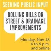 Public Input Rolling Hills