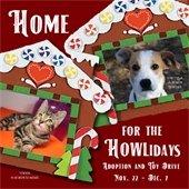 Home for the HOWLidays Adoption and Toy Drive Nov. 22 - Dec. 7