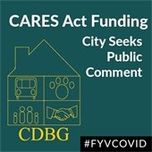 CARES Act Funding: City Seeks Public Comment