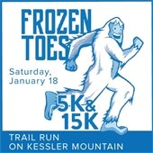 Frozen Toes 5K & 15K Trail Run on Kessler Mountain