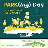 PARK(ing) Day and Drive Electric Week