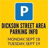 Pre-BBBQ parking info