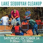 Lake Sequoyah Cleanup 2017