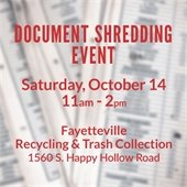 Document Shredding Event