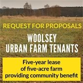 Woolsey Farm Tenants RFP