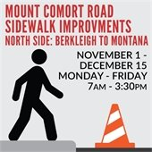 Mount Comfort Sidewalk Improvements