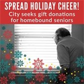 City Seeks Donations for Seniors