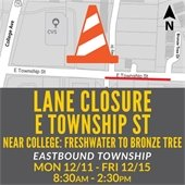 Township Lane Closure