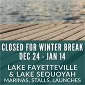 2017 Lake Facilities Closed for Winter Break