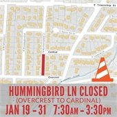 Hummingbird Closed