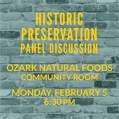 Historic Preservation Panel Discussion