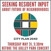 Public Input Session City Plan 2040