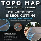 Topo Map Ribbon Cutting