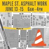 Maple St. Asphalt